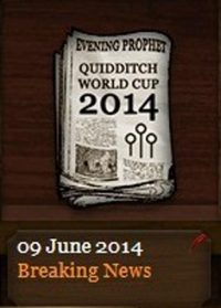 Quidditch World Cup 2014 Breaking News Update