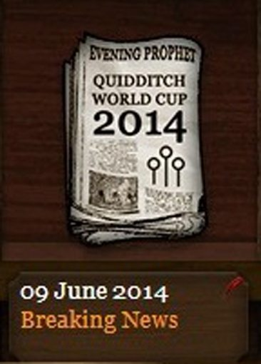 Quidditch World Cup 2014 Evening Prophet (9 June 2014)