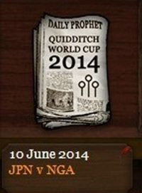 Quidditch World Cup 2014 Quarter-finals Match 4