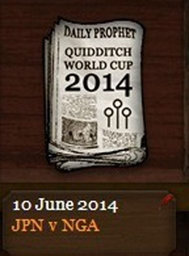 Quidditch World Cup 2014 Daily Prophet (10 June 2014)