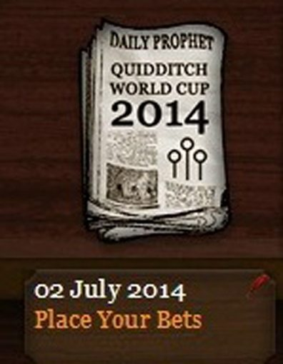 Quidditch World Cup 2014 Daily Prophet (2 July 2014)