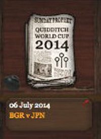 Quidditch World Cup 2014 Semi-finals Match 2