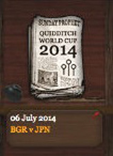 Quidditch World Cup 2014 Sunday Prophet (6 July 2014)