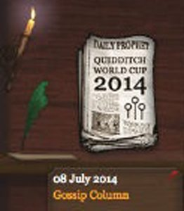 Quidditch World Cup 2014 Daily Prophet (8 July 2014)