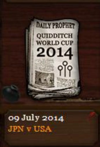 Quidditch World Cup 2014 Daily Prophet (9 July 2014)