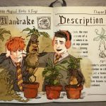 "Mandrake ""baby"" screaming when being transplanted."
