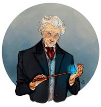 Tom Riddle gets his yew and phoenix feather wand at Ollivander's