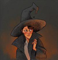 Minerva McGonagall leaves Hogwarts