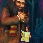 Hagrid brings Harry the Hogwarts letter.