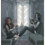 Lily Evans and Severus Snape.