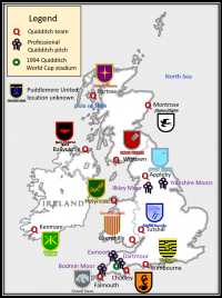 Quidditch Teams of Britain and Ireland