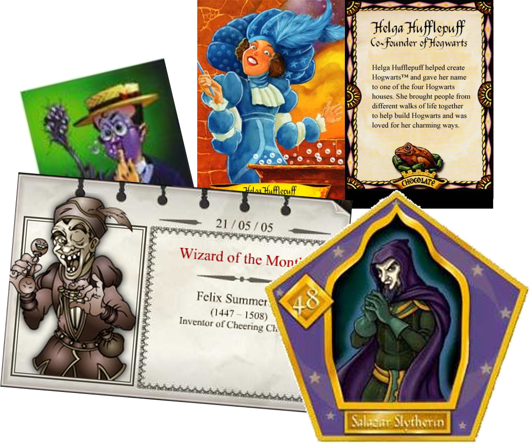 picture relating to Harry Potter Chocolate Frog Cards Printable called FW The Harry Potter Lexicon
