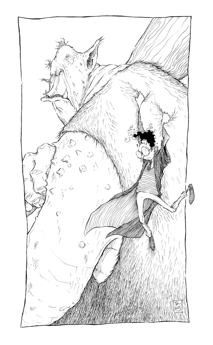 Harry and Mountain Troll