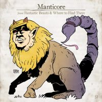 A Manticore savages someone but is let off because no one dares go near it
