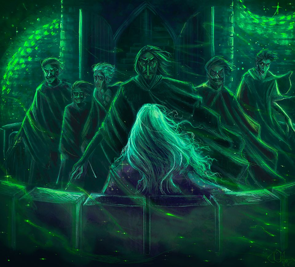 Snape about to Kill Dumbledore