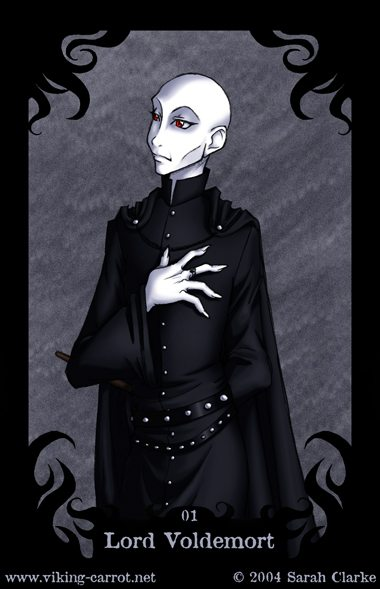 Death Eater Card no. 1
