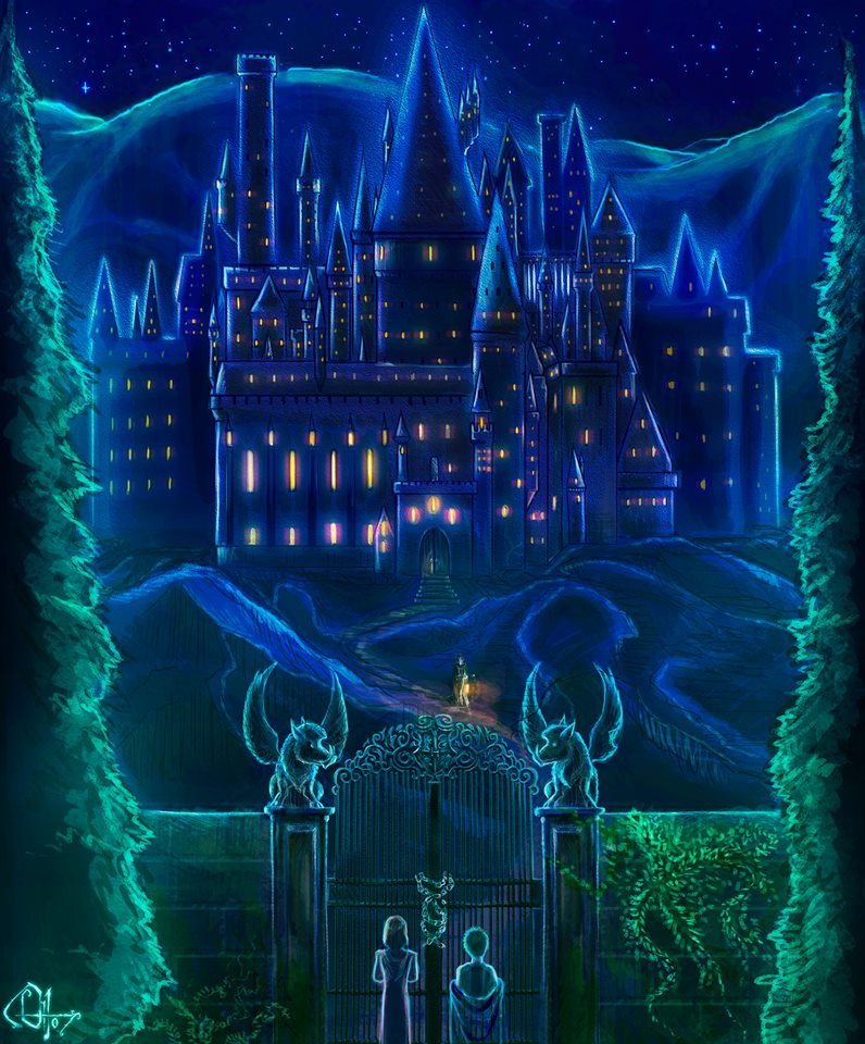hogwarts-at-night-tonks-harry