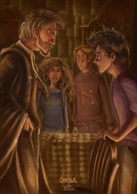 Lupin visits Grimmauld Place, asks to join Harry's quest