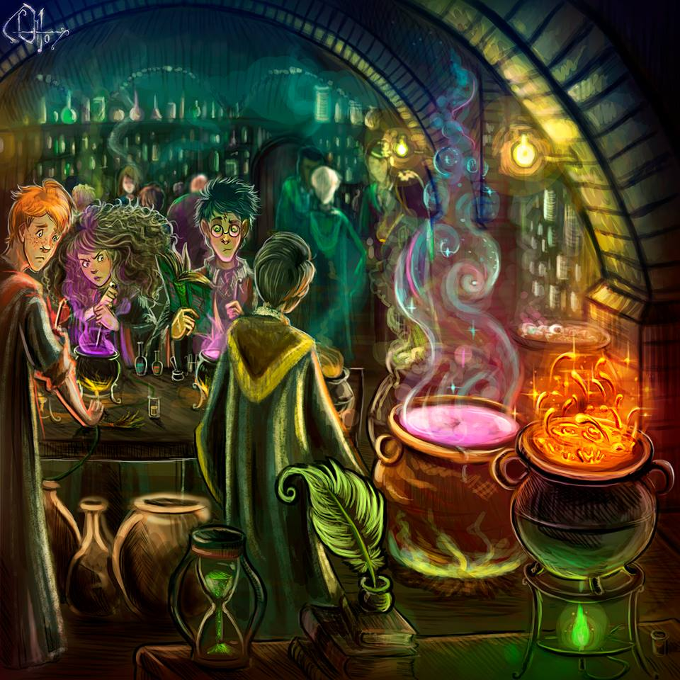 Potions Class, Year Six: Felix Felicis