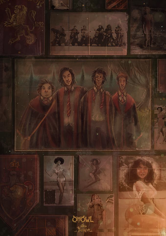 Sirius' Bedroom Wall