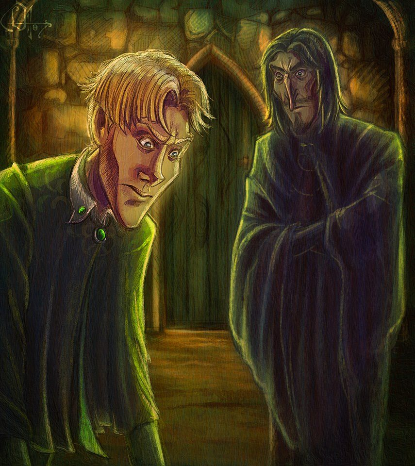 Snape Confronts Draco