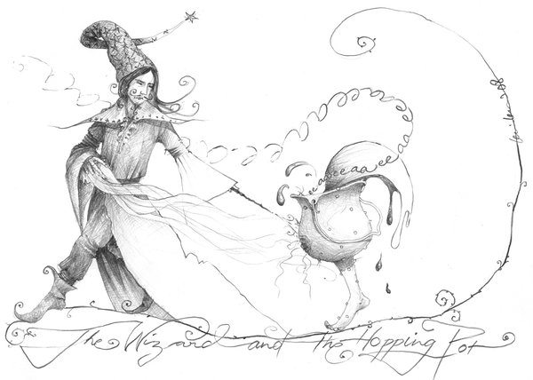 The Wizard and the Hopping Pot