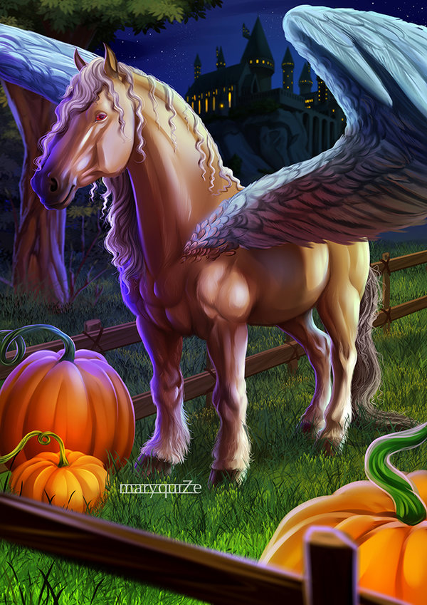 Abraxan horse.Fantastic beasts and where to find