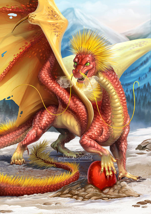 Chinese Fireball Dragon
