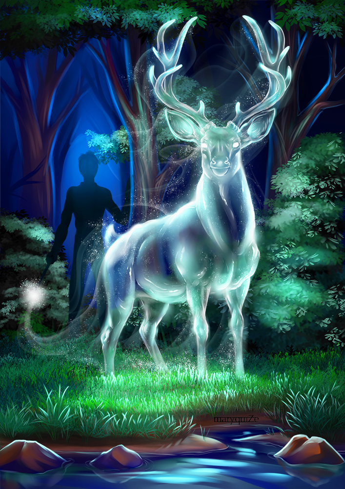 Patronus. Fantastic beasts and where to find them