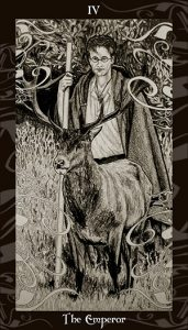 James Potter and a stag.