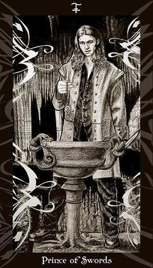 HP Tarot – Prince of Swords
