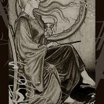 Narcissa as Queen of Cups.