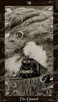 Harry and his friends travel to Hogwarts aboard the Hogwarts Express, and begin their fourth year