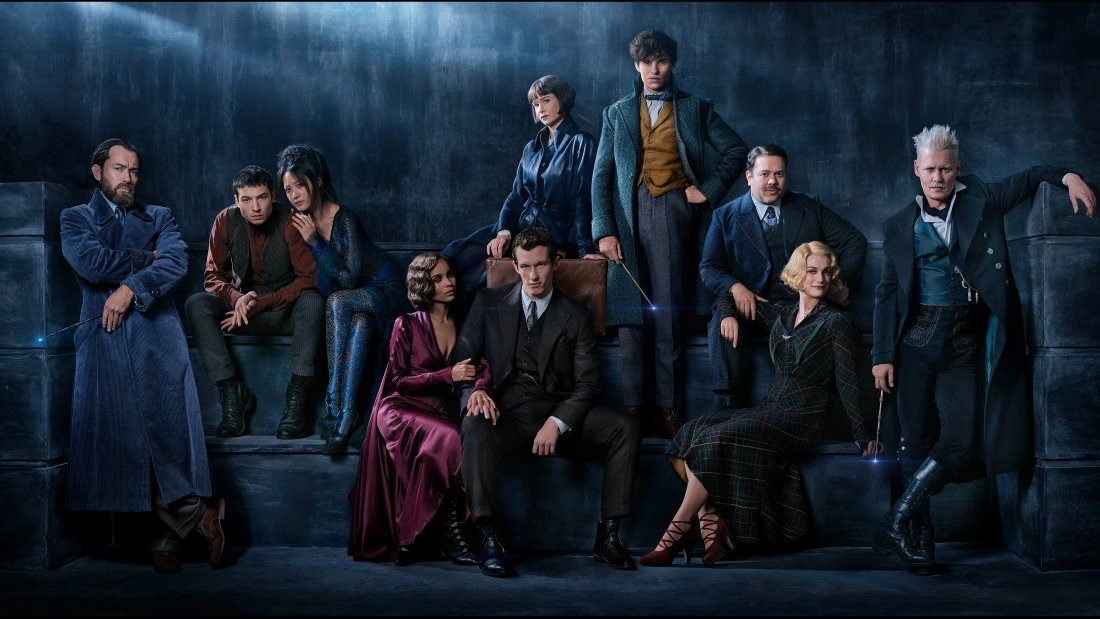 Fantastic Beasts: The Crimes of Grindelwald Cast Photo