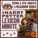 Harry Potter Lexicon Minute Cover Art
