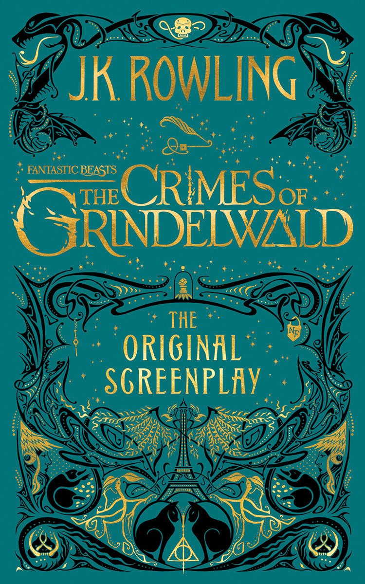 Fantastic Beasts: The Crimes of Grindelwald cover