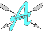 Appleby Arrows Quidditch Team logo