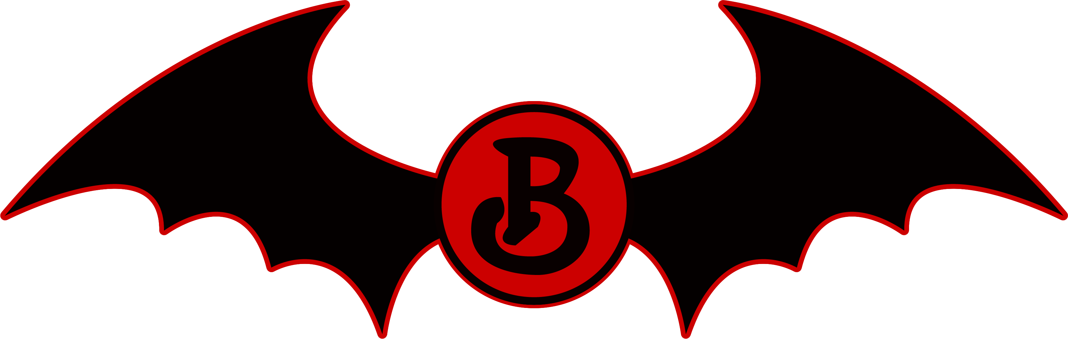 Ballycastle Bats Quidditch Team logo