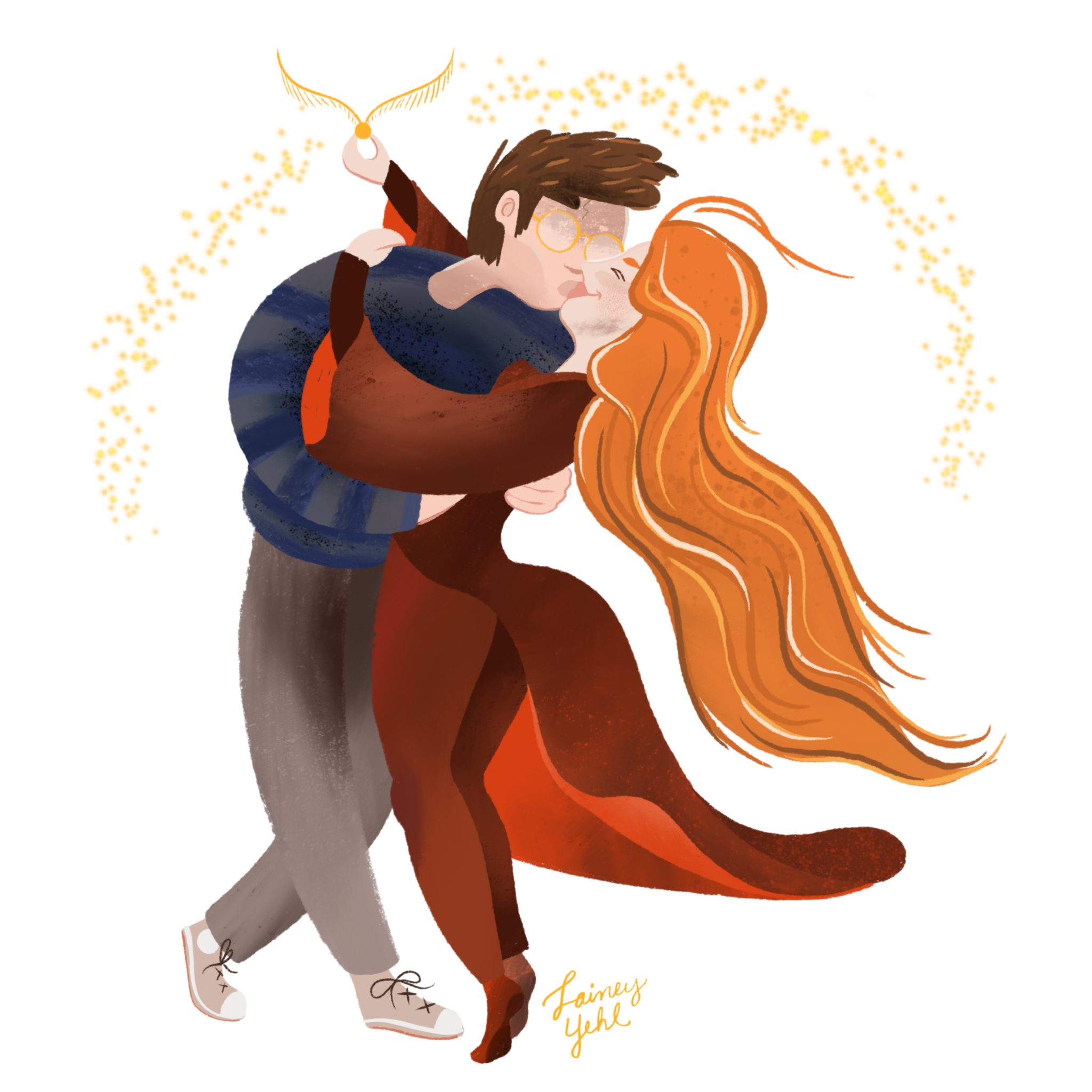 Harry And Ginny (Book 6)