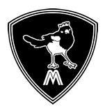 Montrose Magpies Quidditch Team logo