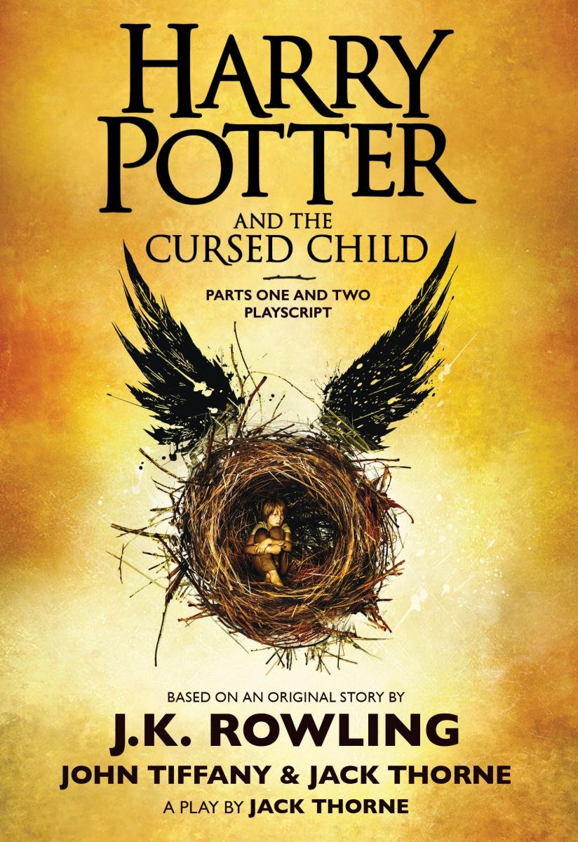 Cursed Child final script book