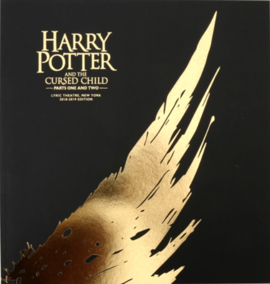 Souvenir booklet for the Broadway production of Harry Potter and the Cursed Child