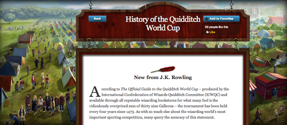 History of the Quidditch World Cup