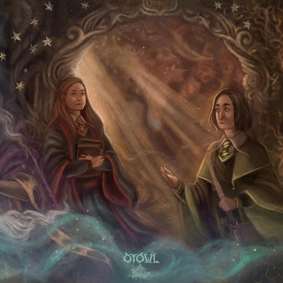 Severus and Lily Detail