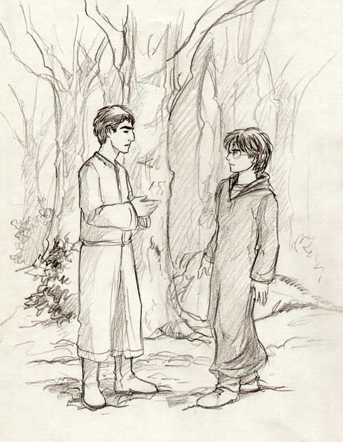 krum_and_harry_in_the_forest
